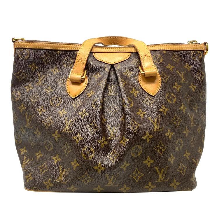 Black Louis Vuitton Palermo PM Monogram Canvas Crossbody Bag  For Sale