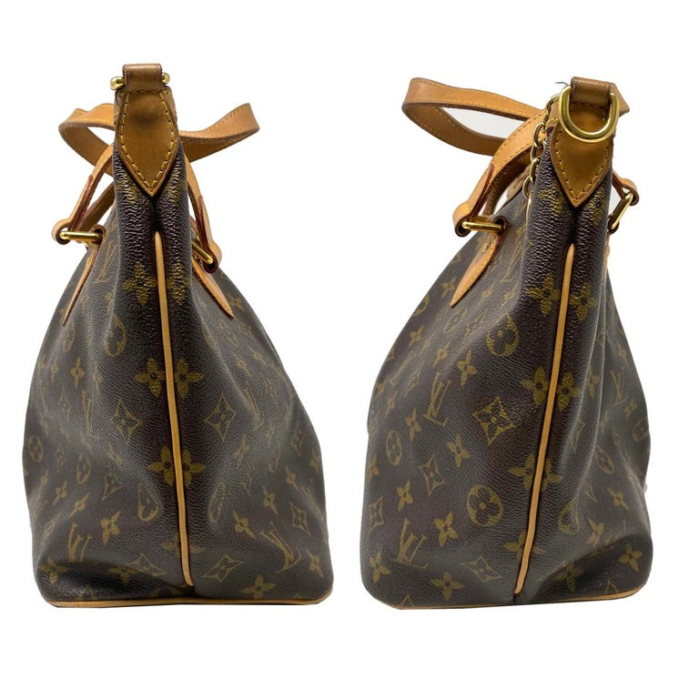 Louis Vuitton Palermo PM Monogram Canvas Crossbody Bag  In Good Condition For Sale In Boca Raton, FL