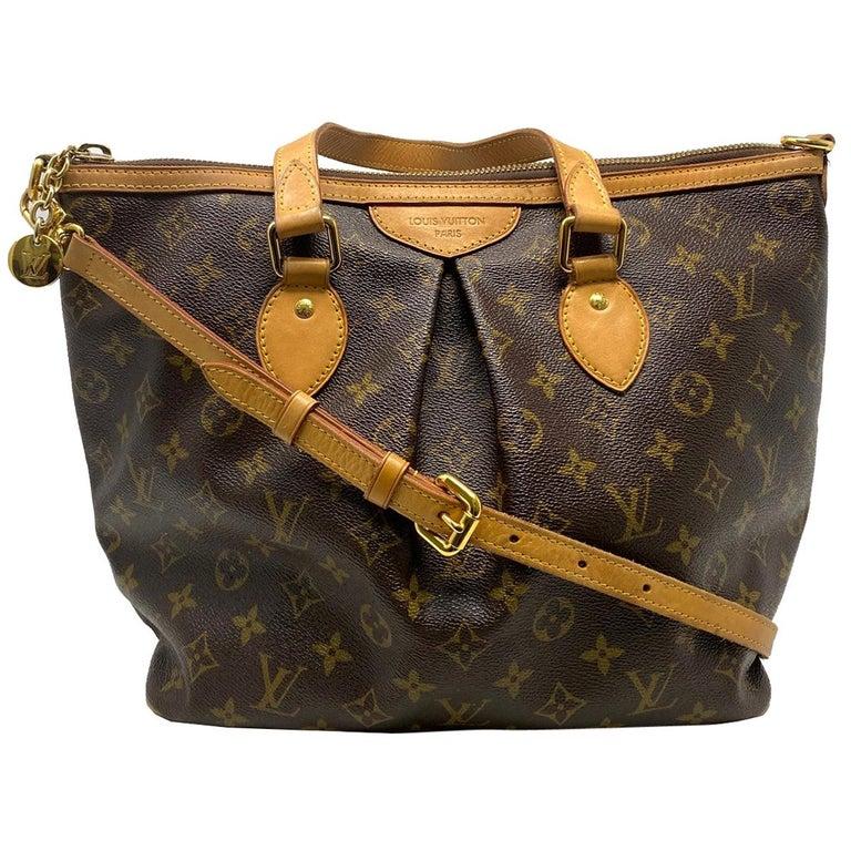 Louis Vuitton Palermo PM Monogram Canvas Crossbody Bag  For Sale