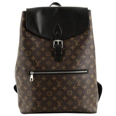 Louis Vuitton Palk Backpack Macassar Monogram Canvas