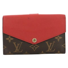 Louis Vuitton Pallas Compact Wallet Monogram Canvas and Calf Leather