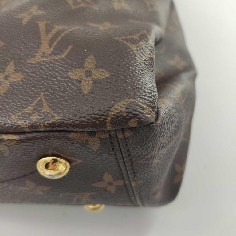 LOUIS VUITTON Pallas Shoulder bag in Brown Canvas For Sale 8