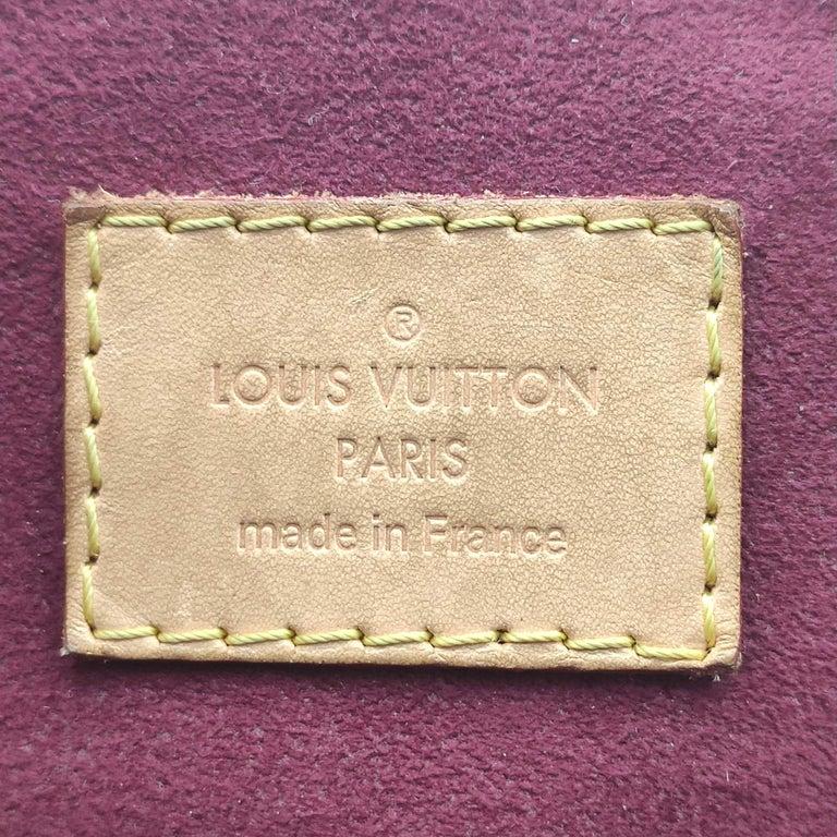 LOUIS VUITTON Pallas Shoulder bag in Brown Canvas For Sale 3