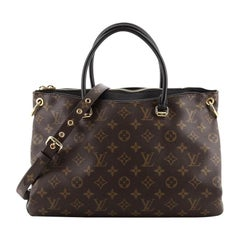 Louis Vuitton Pallas Tote Monogram Canvas BB