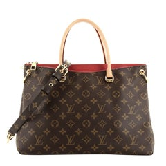 Louis Vuitton Pallas Tote Monogram Canvas