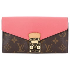 Louis Vuitton Pallas Wallet Monogram Canvas and Calf Leather