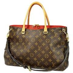 LOUIS VUITTON Pallas Womens handbag M41175 cerise