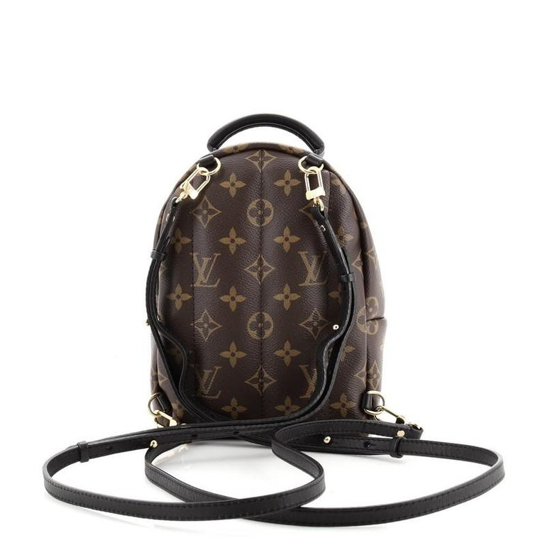 Louis Vuitton Palm Springs Backpack Limited Edition Monogram Canvas Mini In Good Condition For Sale In New York, NY