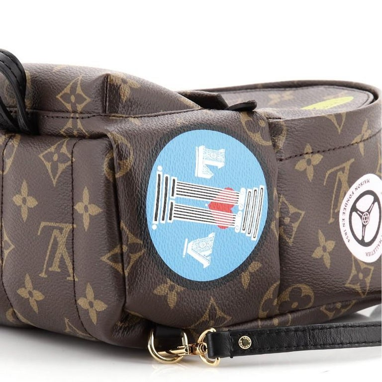 Louis Vuitton Palm Springs Backpack Limited Edition Monogram Canvas Mini For Sale 2