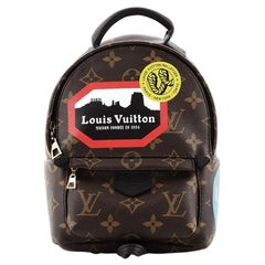 Louis Vuitton Palm Springs Backpack Limited Edition Monogram Canvas Mini