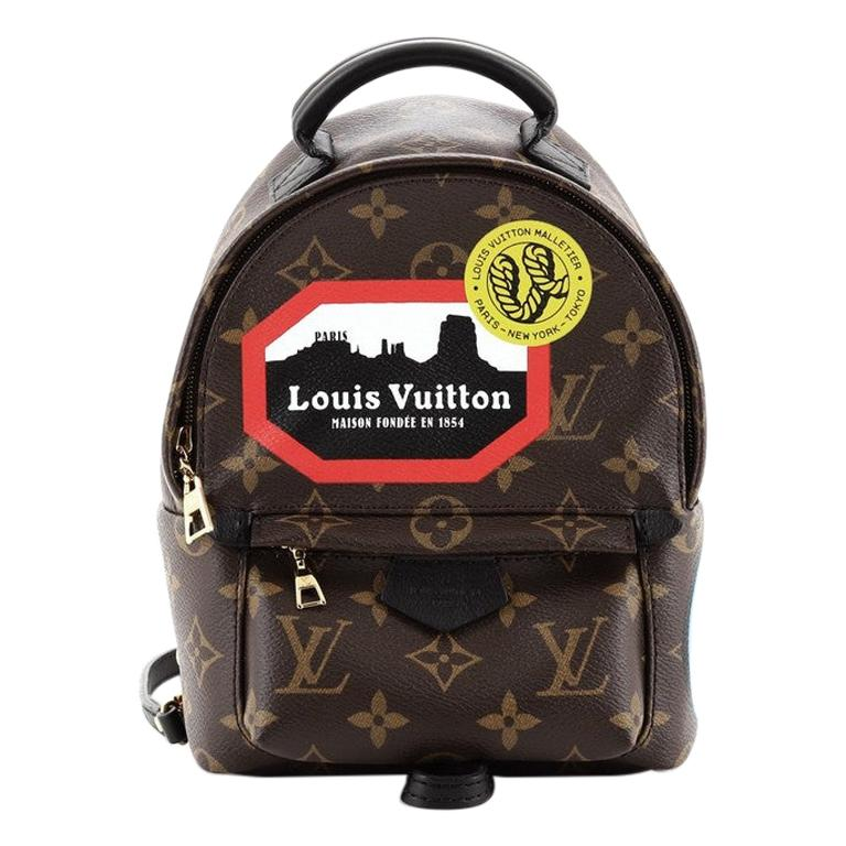 Louis Vuitton Palm Springs Backpack Limited Edition Monogram Canvas Mini For Sale