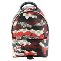 Louis Vuitton Palm Springs Backpack Limited Edition Patchwork Waves Damier PM