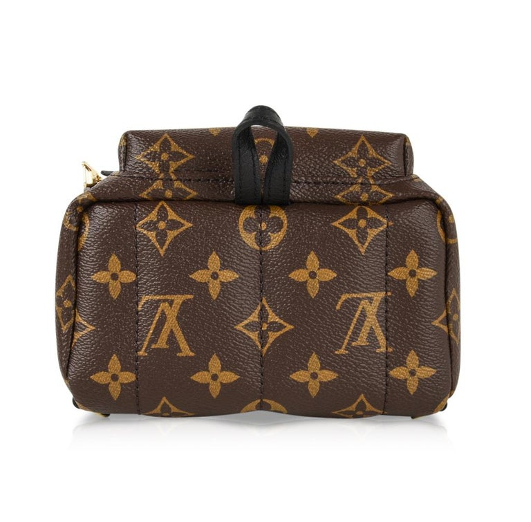 65a5e7a1cda90 Louis Vuitton Palm Springs Backpack Mini Monogram For Sale at 1stdibs
