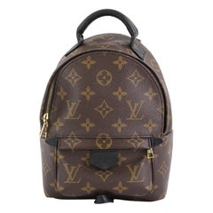 Louis Vuitton Palm Springs Backpack Monogram Canvas Mini