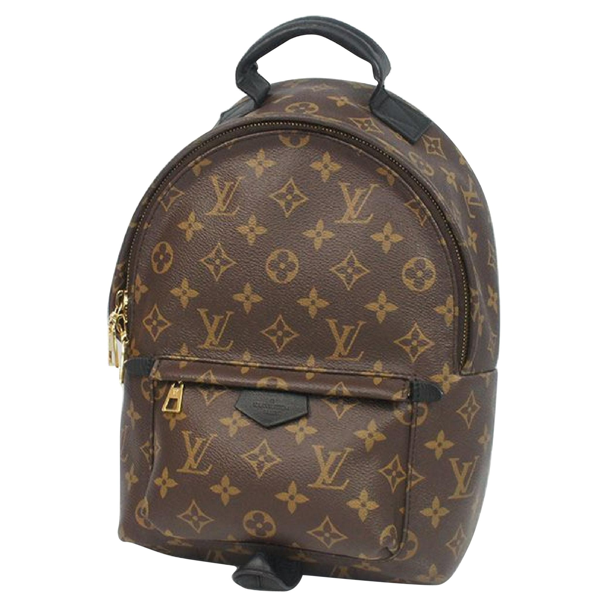 LOUIS VUITTON Palm Springs Backpack PM Womens ruck sack Daypack M41560