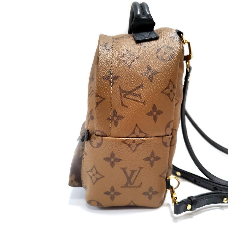 Brand - Louis Vuitton Collection - Palm Springs Estimated Retail - $2,140.00 Style - Backpack Material - Canvas Color - Brown Pattern - Monogram Closure - Zip Hardware Material - Goldtone Model/Date Code - FL4126 Comes With - Box, Dustbag Size -