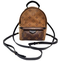 Louis Vuitton Palm Springs Brown Monogram Backpack Handbag