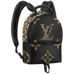 Louis Vuitton Palm Springs Jungle Giant Monogram Coated Canvas PM Backpack