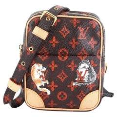 Louis Vuitton Paname Bag Limited Edition Grace Coddington Catogram Canvas