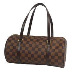 LOUIS VUITTON Papillon GM Papillon 30 Womens Boston bag N51303 Damier ebene