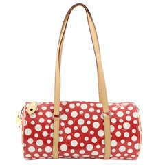 Louis Vuitton Papillon Handbag Kusama Infinity Dots Monogram Vernis 30