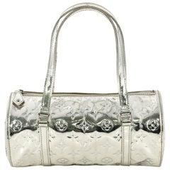Louis Vuitton Papillon Handbag Miroir PVC 26