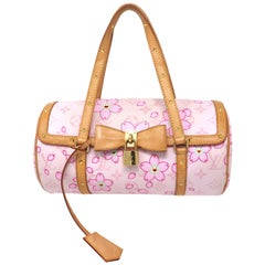 Louis Vuitton Papillon Monogram Cherry Blossom Pink Satchel