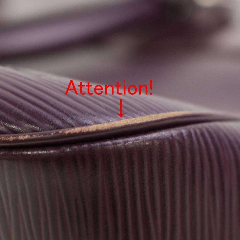 85d643930293 Louis Vuitton Passy Cassis Epi Pm 867138 Purple Leather Satchel For Sale at  1stdibs