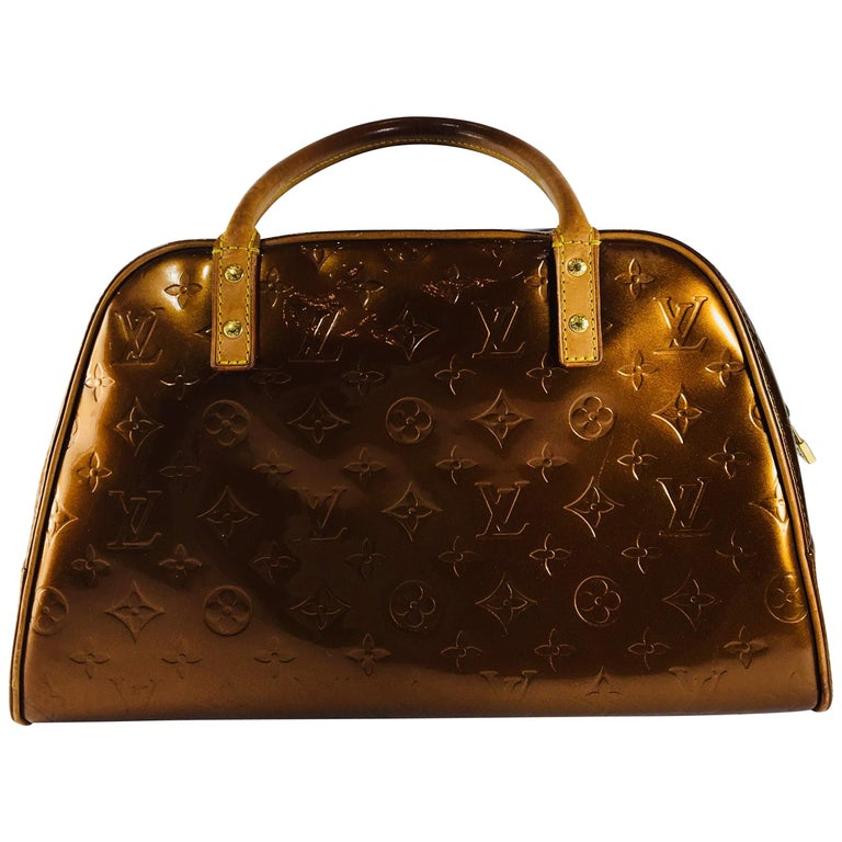 e1eeff29df46 Louis Vuitton Patent Leather Handle Bag at 1stdibs