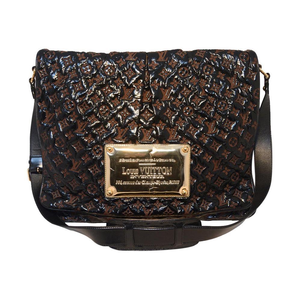 Louis Vuitton Patent Leather Messenger Bag