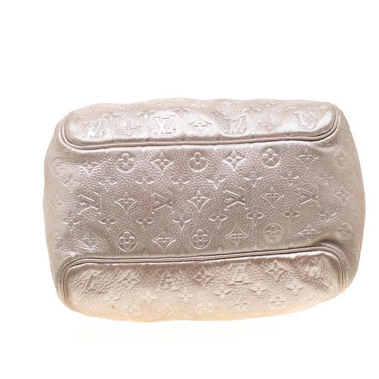 Louis Vuitton Peach Monogram Limited Edition Shimmer Comete Bag 6