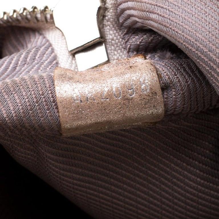 Louis Vuitton Peach Monogram Limited Edition Shimmer Comete Bag 1