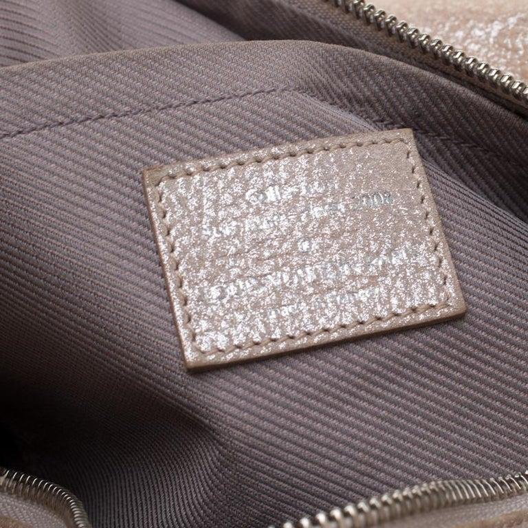 Louis Vuitton Peach Monogram Limited Edition Shimmer Comete Bag 2