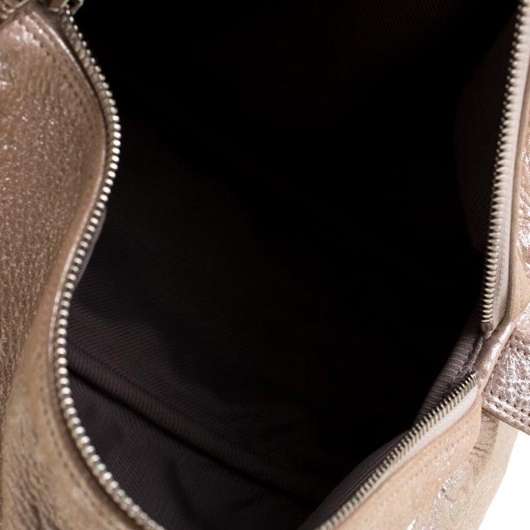 Louis Vuitton Peach Monogram Limited Edition Shimmer Comete Bag 3
