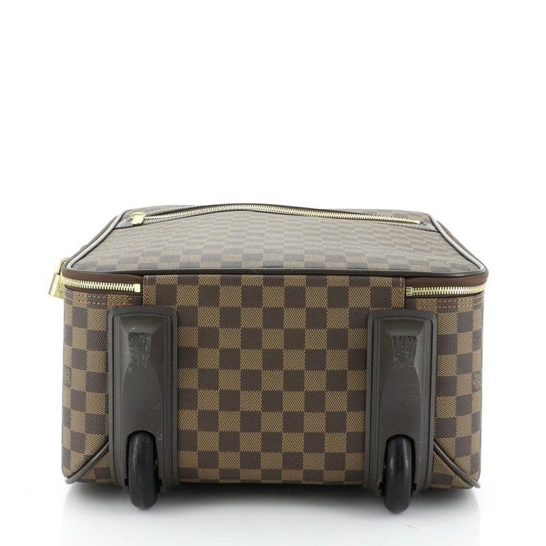 Women's or Men's Louis Vuitton Pegase Luggage Damier 45 For Sale