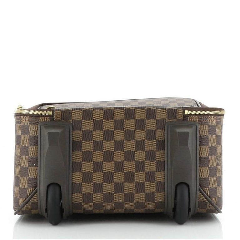 Louis Vuitton Pegase Luggage Damier 45 In Good Condition For Sale In New York, NY
