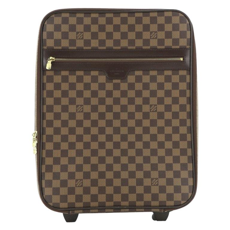 Louis Vuitton Pegase Luggage Damier 45 For Sale