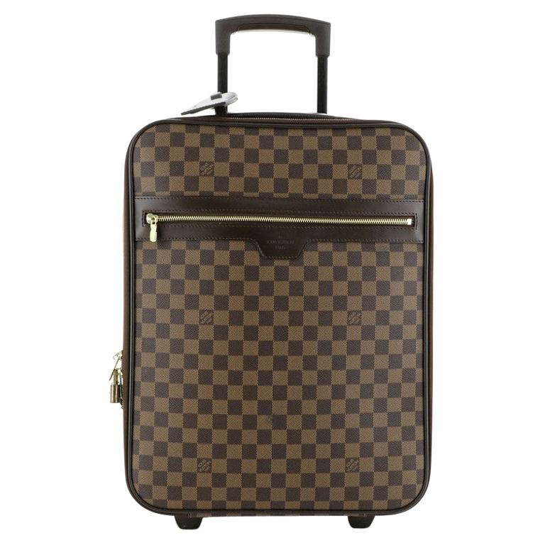 Louis Vuitton Pegase Luggage Damier 45 For Sale