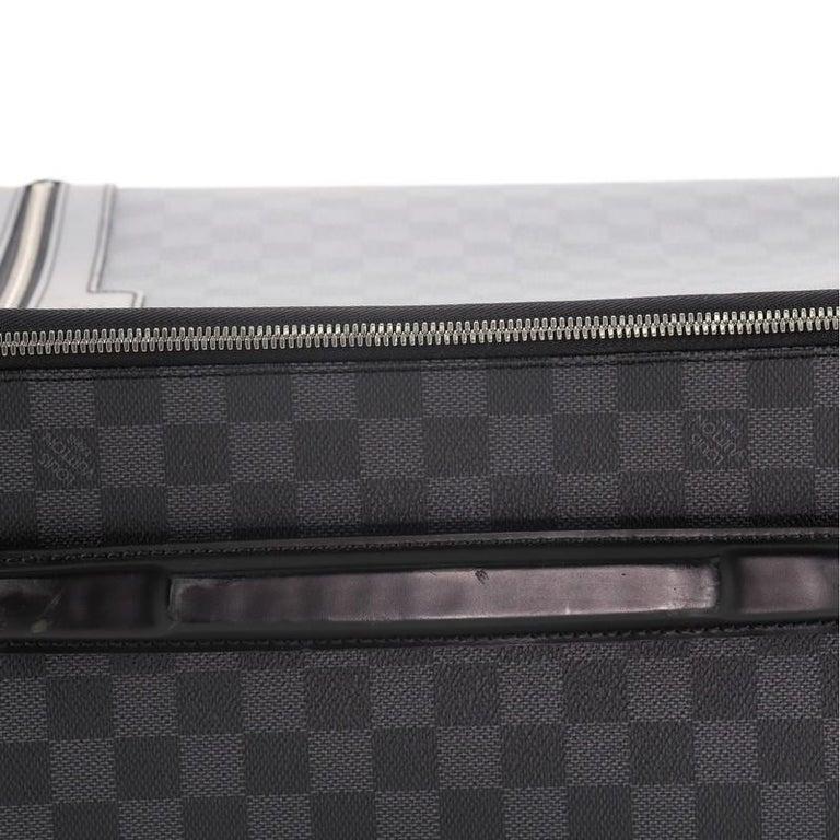 Louis Vuitton Pegase Luggage Damier Graphite 55 For Sale 1