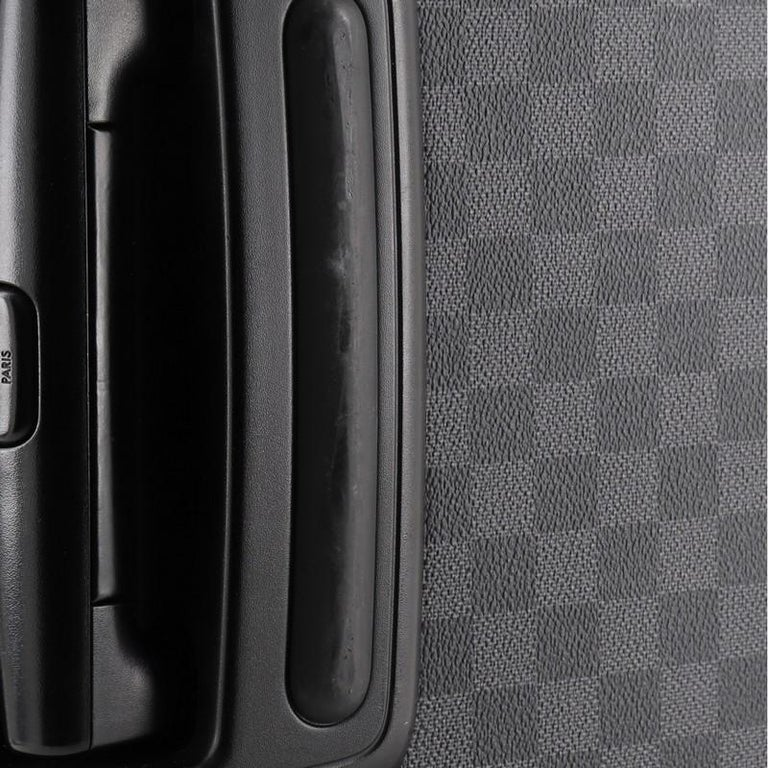 Louis Vuitton Pegase Luggage Damier Graphite 55 For Sale 2
