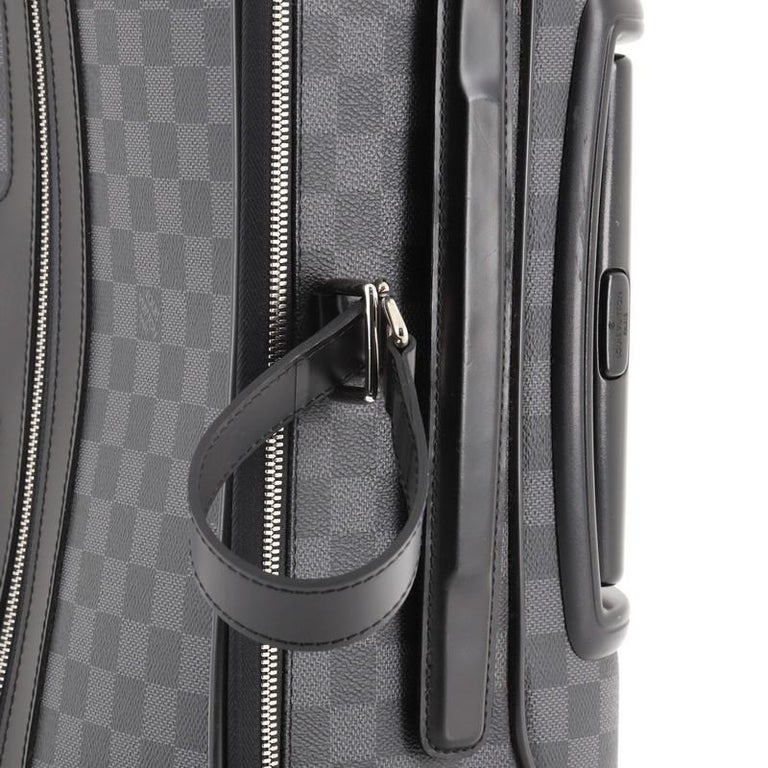 Louis Vuitton Pegase Luggage Damier Graphite 55 For Sale 3