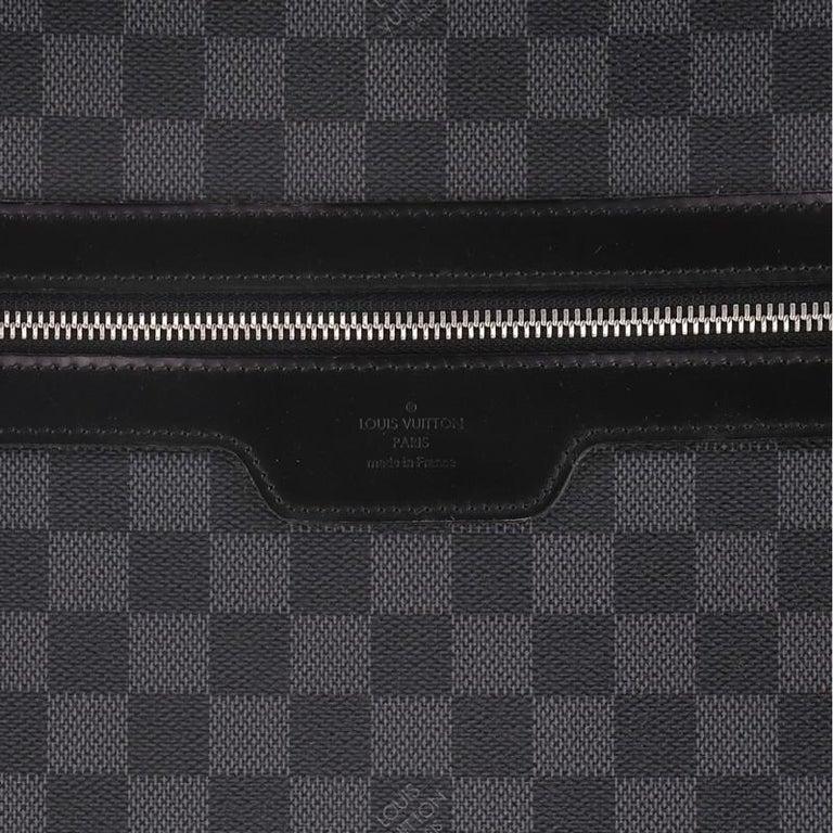 Louis Vuitton Pegase Luggage Damier Graphite 55 For Sale 4