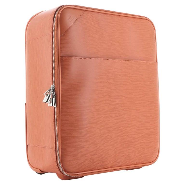 Louis Vuitton Pegase Luggage Epi Leather 45 For Sale