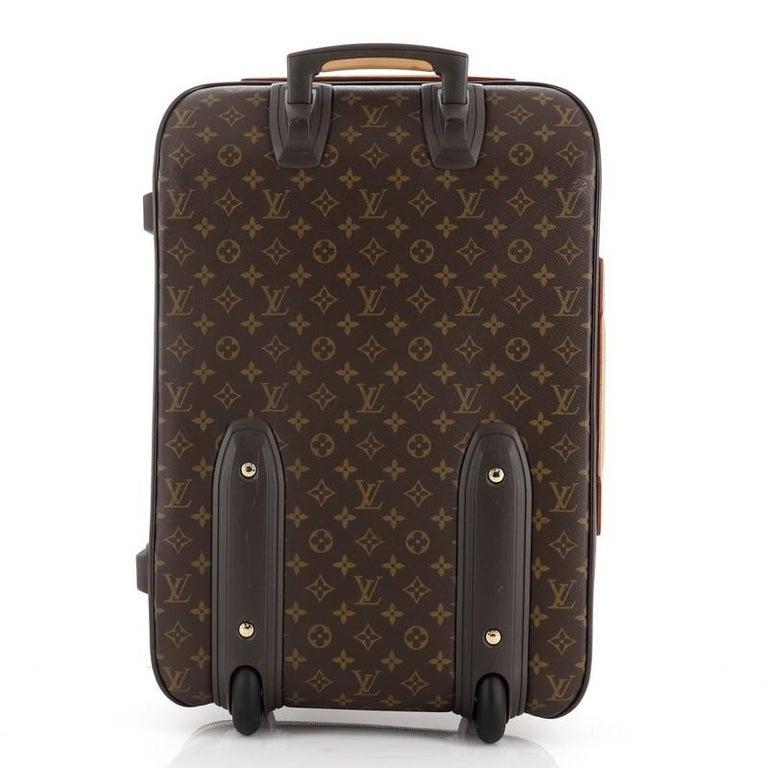 Black Louis Vuitton Pegase Luggage Monogram Canvas 55