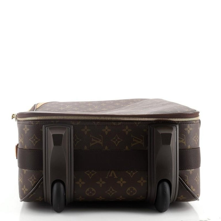 Louis Vuitton Pegase Luggage Monogram Canvas 55 In Good Condition In New York, NY