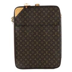 Louis Vuitton Pegase Luggage Monogram Canvas 55
