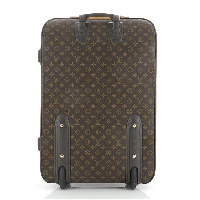 Black Louis Vuitton Pegase Luggage Monogram Canvas 65