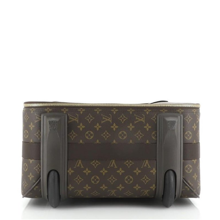 Louis Vuitton Pegase Luggage Monogram Canvas 65 In Good Condition In New York, NY