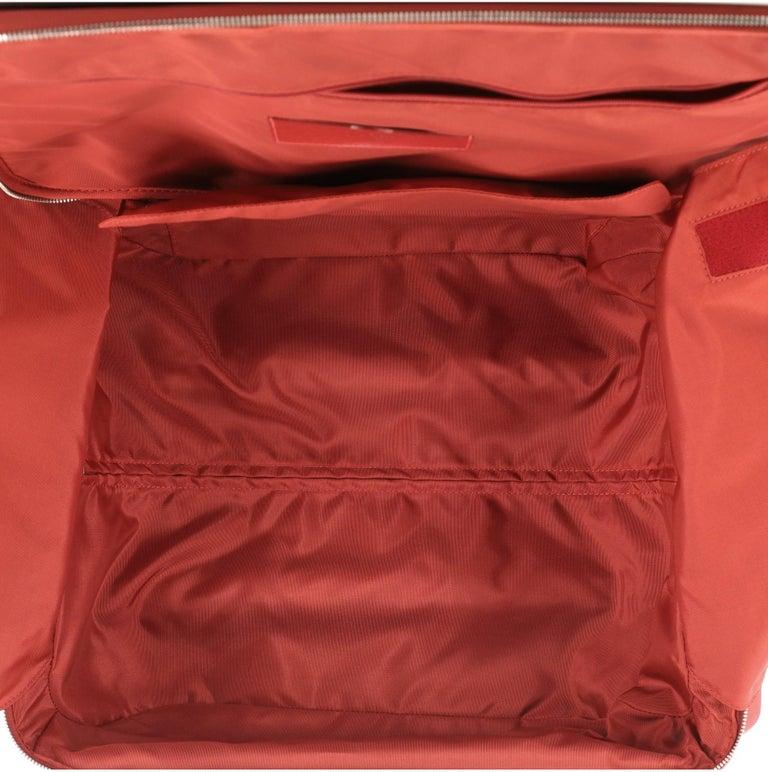Women's or Men's Louis Vuitton Pegase Luggage Red Epi Leather 45 For Sale
