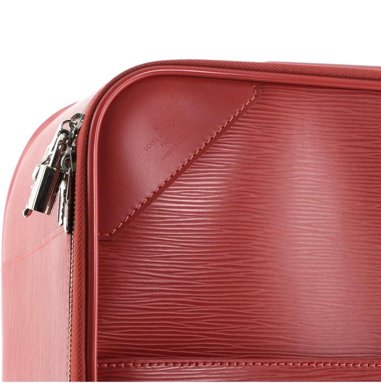 Louis Vuitton Pegase Luggage Red Epi Leather 45 For Sale 1